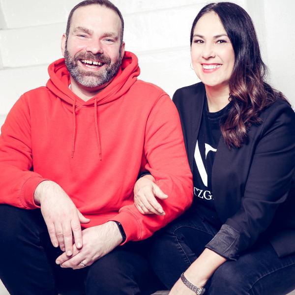 Eva und Sven im Januar 2020