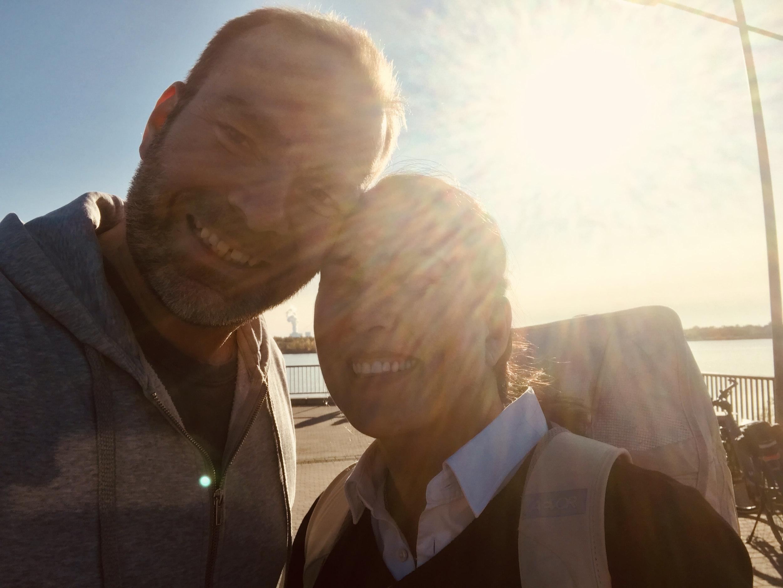Eva und Sven im November 2020