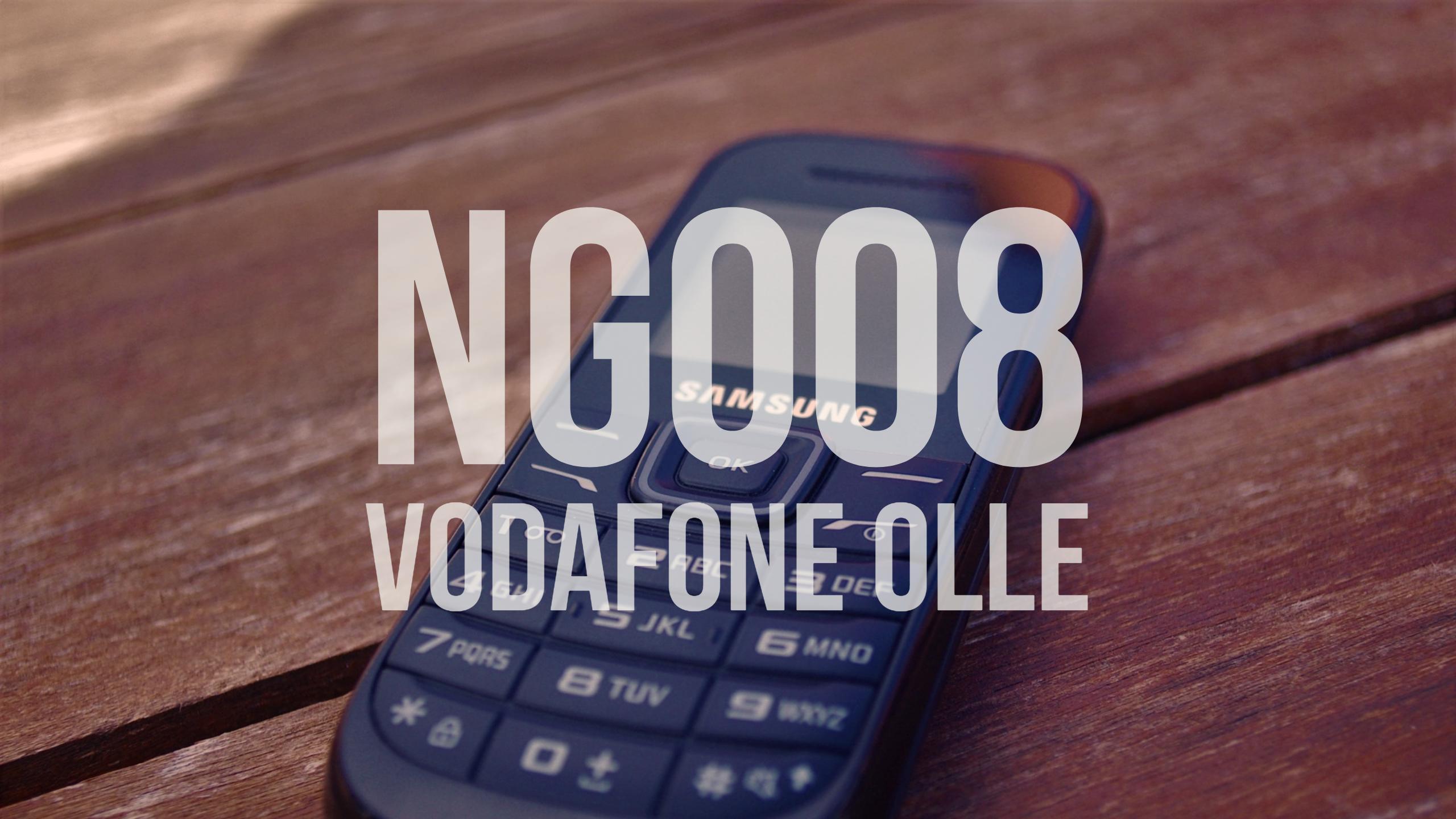 NG008 Vodafone Olle