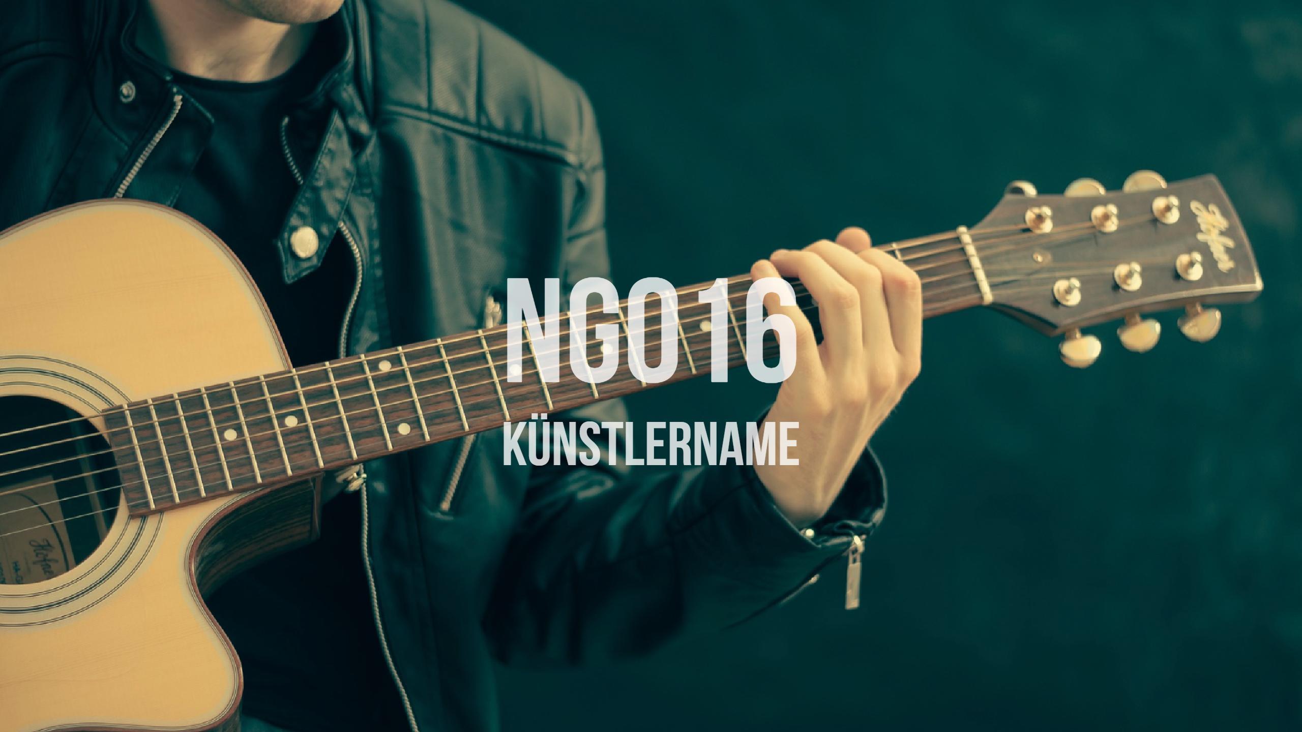 NG016 Künstlername
