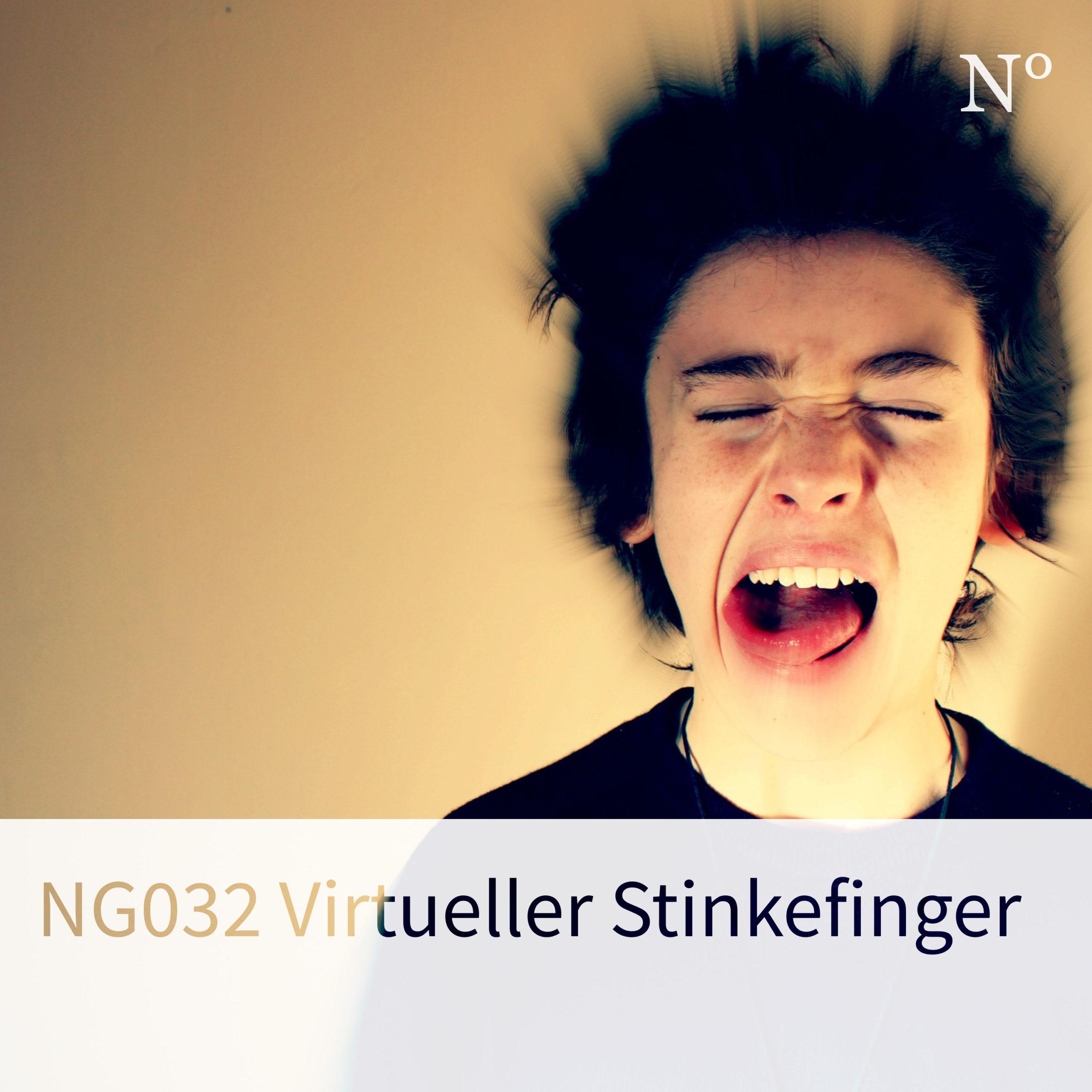 NG032 Virtueller Stinkefinger