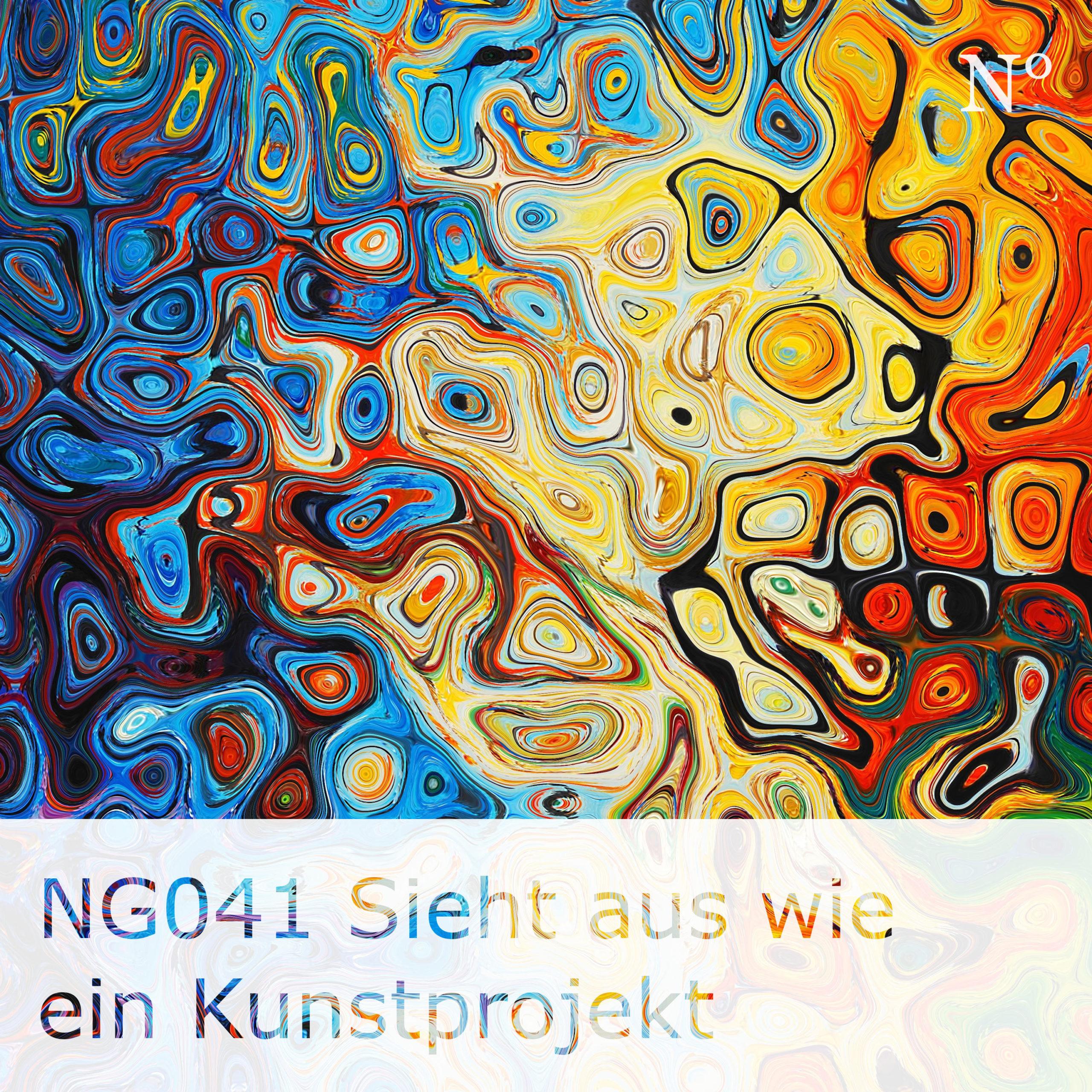 NG041 Sieht aus wie ein Kunstprojekt